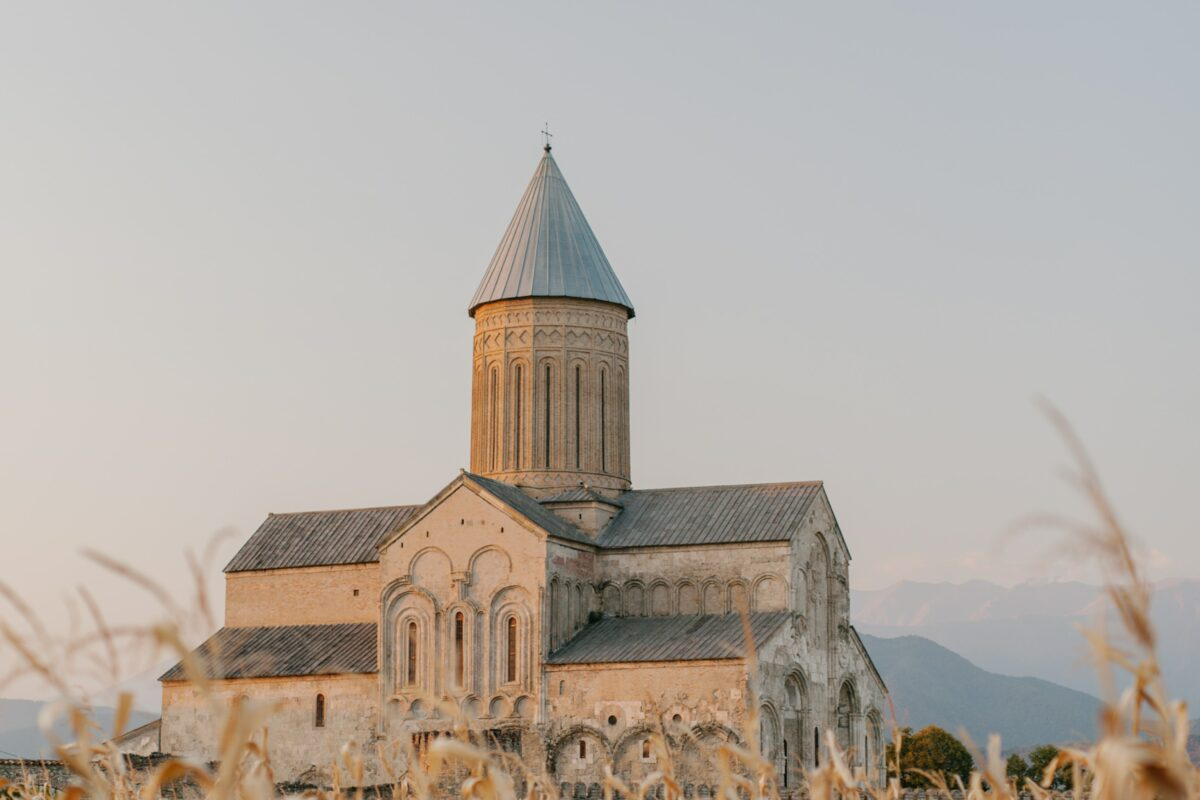 Picture of a architectural church